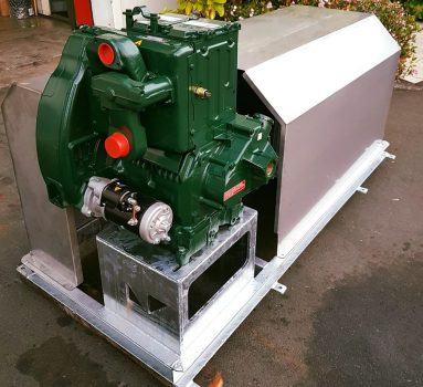 Diesel water pump for boreholes.