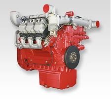 Deutz V6 diesel engine