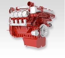 Deutz V8 diesel engine
