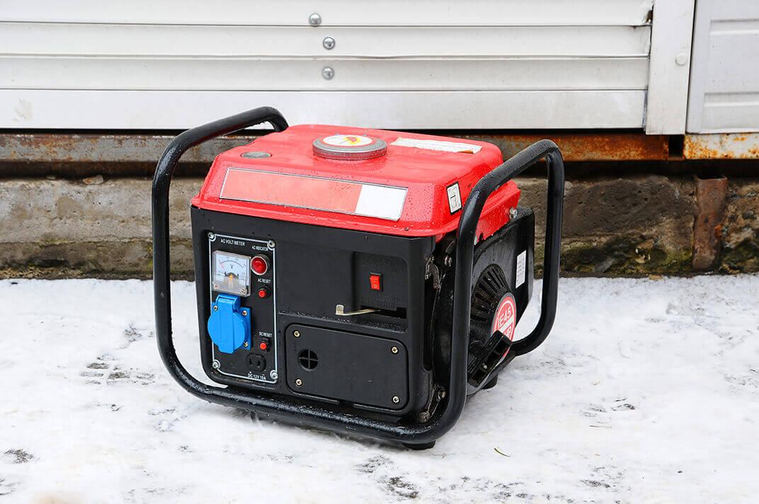 Small home diesel generator