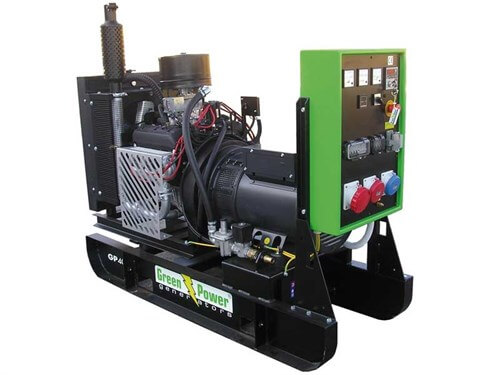 Green Power gas co-generaton generator