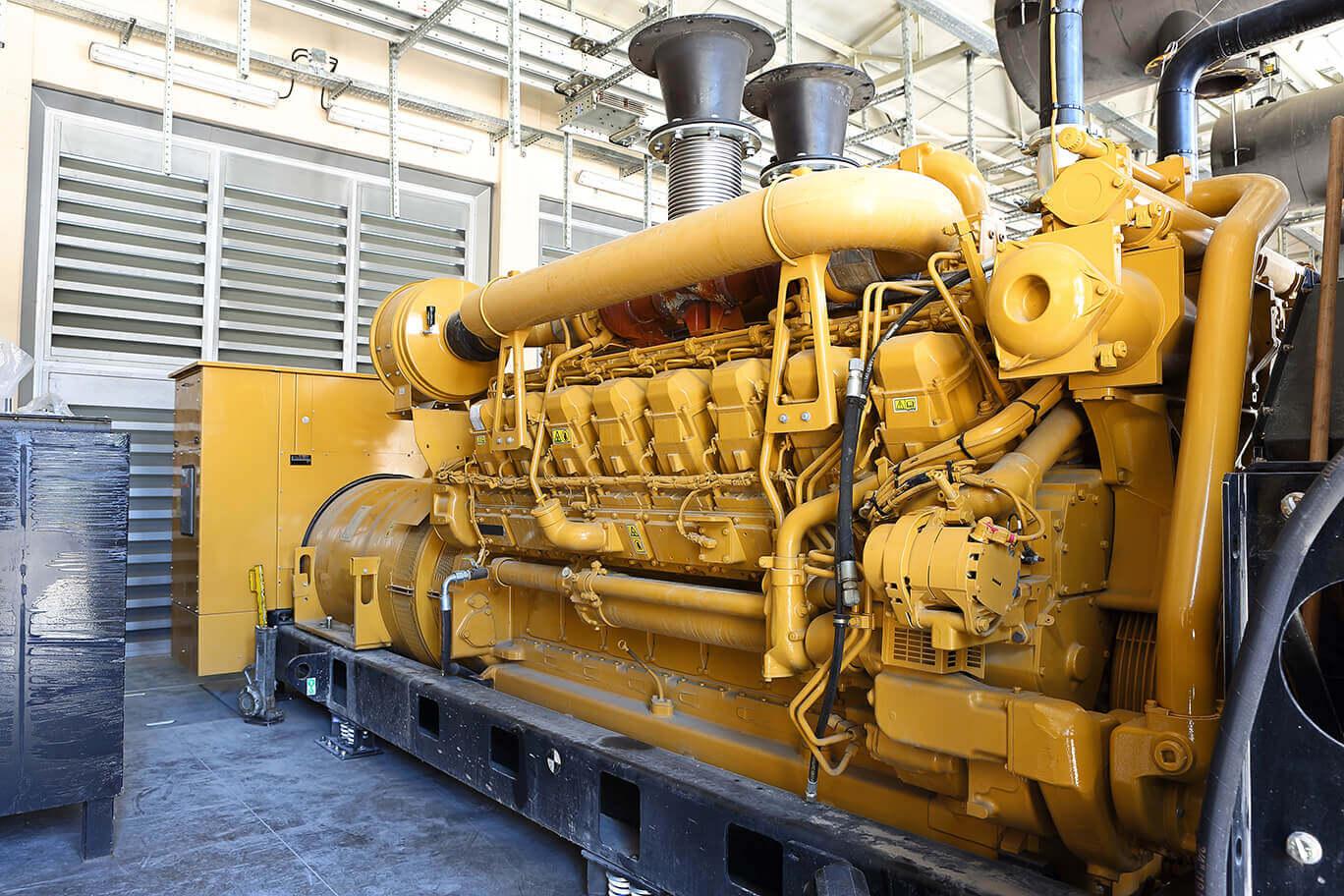 large scale industrial diesel generator