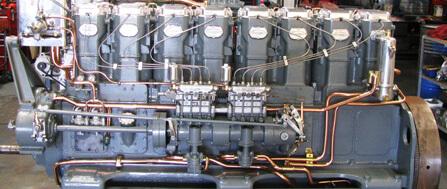 Gardner rebuilt diesel engine