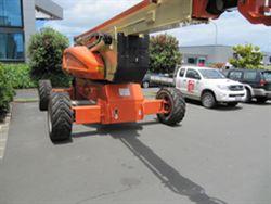 industrial equipment with diesel engine