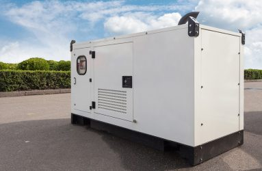 Standby diesel generator suitable for hospital